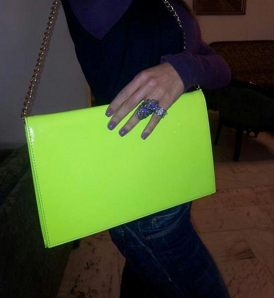 Neon Green Bag!