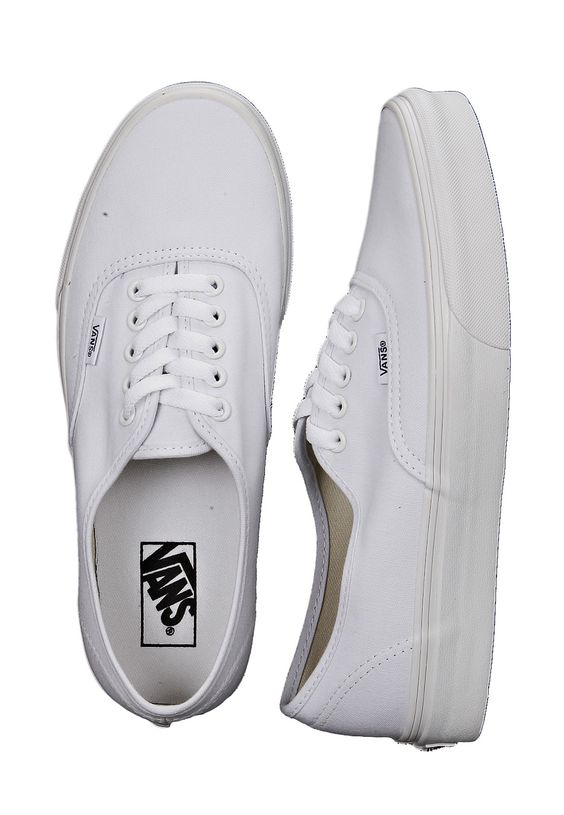 vans authentic shoes true white | Vans Shoes India