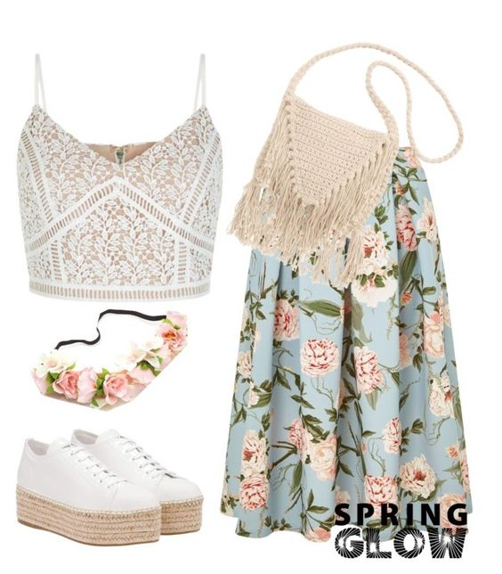 """""""Spring end Fashion!"""" by hellochachune ❤ liked on Polyvore featuring New Look, Miss Selfridge, Miu Miu, Billabong and springglow"""