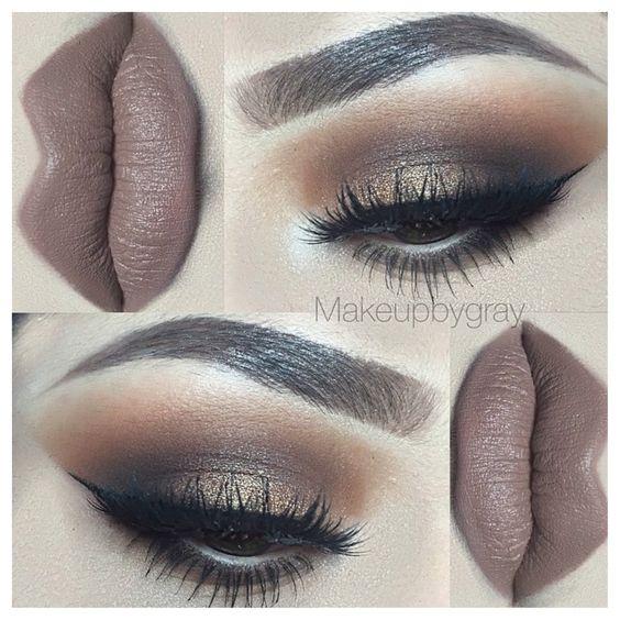 Neutrale ogen, Ogen and Make-up on Pinterest
