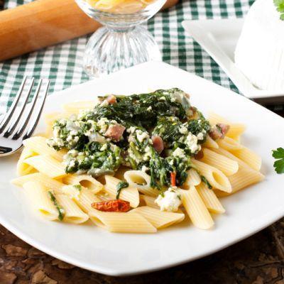 Ricotta Spinach Pasta