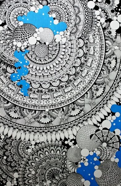 空想/幻想画「壁」[千山 由胡紀] | ART-Meter