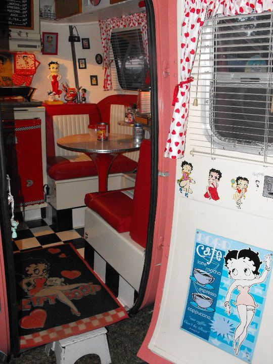 betty boop interiors and car to go on pinterest. Black Bedroom Furniture Sets. Home Design Ideas