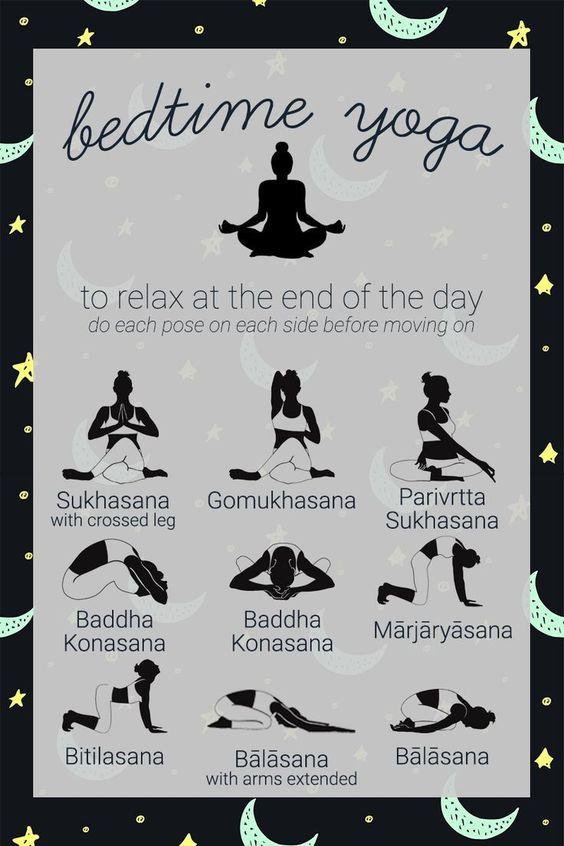 sleep yoga soyvirgo.com Beenden Sie Ihren Tag mit dieser entspannenden Yoga-Sequenz, um Ihnen den Schlaf vorzubereiten. Rem ... - Fitness und Training