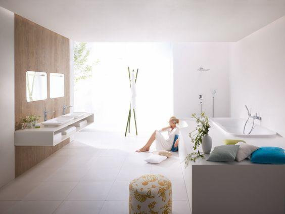 Hansgrohe maakt jouw badkamerdromen waar. Douchen wordt een feest met Hansgrohe.