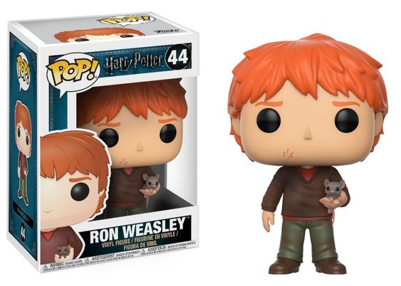44 Ron Weasley con Scabbers Funko Pop