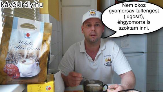 Cappuccino Ganodermával: az isteni finom DXN White Coffee Zhino