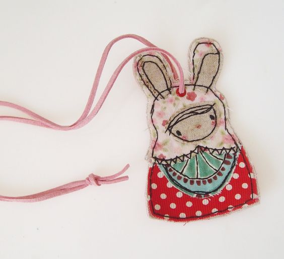 Miss Rabbit. Embroidery