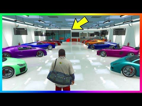 Nice The Real Reason Why There Is An Unused Vehicle Workshop In Our Gta Online Garages Gta Online Gta Workshop