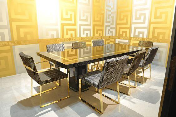 Versace Home Collection | Versace Home Collection 2012 Büro Möbel  Gespiegelte Oberflächen | Luxury Living Lifestyle | Pinterest | Versace