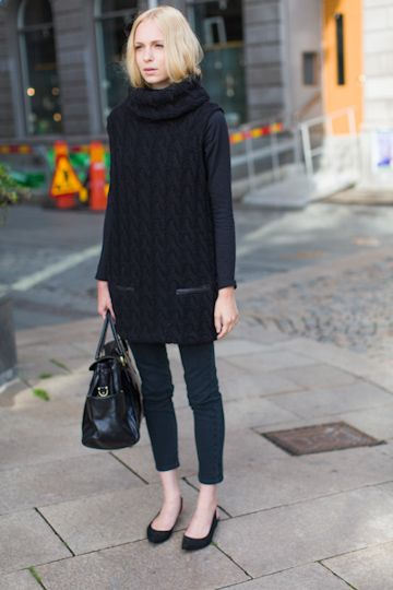 emerson fry. chilly chic!: Black Knits, Chunky Sweaters, Big Knits, Long Sweaters, Navy Sweaters, Oversized Sweaters, Black Sweaters