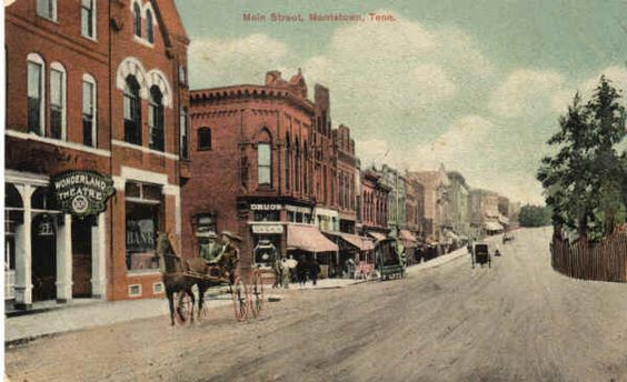 Morristown tn vintage postcard antique photos and old for Morristown topix