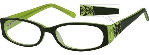 BlackFull-Rim Acetate Frame With Spring 481724