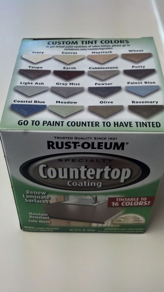 Laminate Countertop Paint Uk : Fix Lovely: How to paint laminate countertops