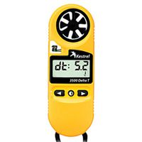 0835DT - The Kestrel 3500DT incorporates a Delta T calculation, the spread between the wet bulb temperature and the dry bulb temperature (in degrees C or F). See this meter and more at www.kestrel-direct.com!!!