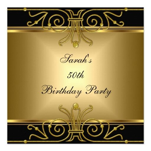 Great Gatsby Party Invitations Templates – Downloadable Birthday Invitations Templates Free