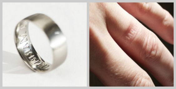 The anti-cheating wedding ring