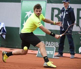 Blog Esportivo do Suíço: Wawrinka não brilha, mas passa à terceira rodada de Roland Garros