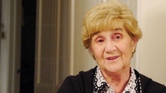 Holocaust-Zeitzeugin: Die Holocaust-Überlebende Rena Quint, hier auf einem Foto von 2014, fragt sich noch heute, wie sie die Gräuel des Konzentrationslagers überleben konnte.