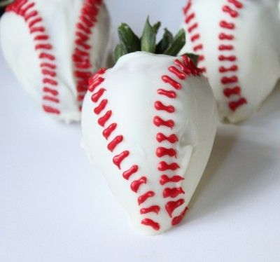 Such a cute idea for a birthday party or team ball party!!! sweet-treats
