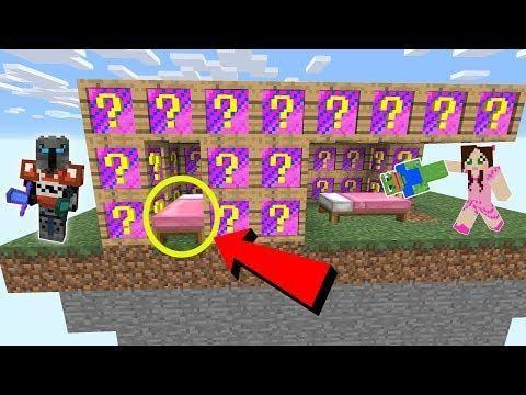 Minecraft Fake Memes Lucky Block Bedwars Modded Mini Game Mini Games Minecraft Minecraft Mods