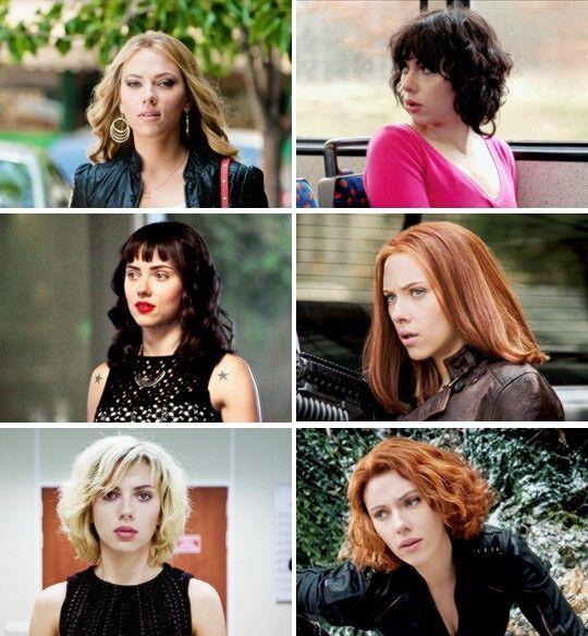 Scarlett Johansson y algunas de sus peliculas