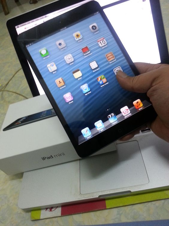 My brand new iPad mini 32 gb wifi model. Not using it anymore, sold to my brother Peter Lim.