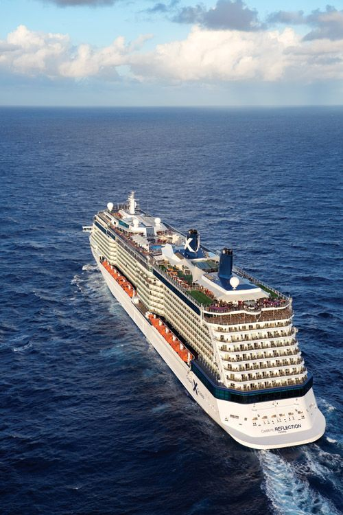 Romance at Sea: Celebrity cruises' Reflection, a hyper-modern love boat