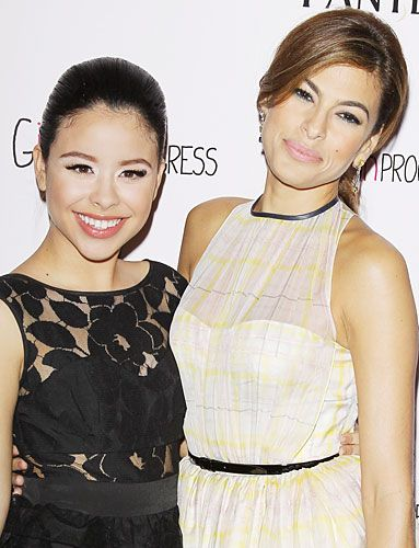 Cierra Ramirez and #EvaMendes hosted a screening of Girls in Progress at L.A.'s DGA Theater. http://news.instyle.com/photo-gallery/?postgallery=110913#1
