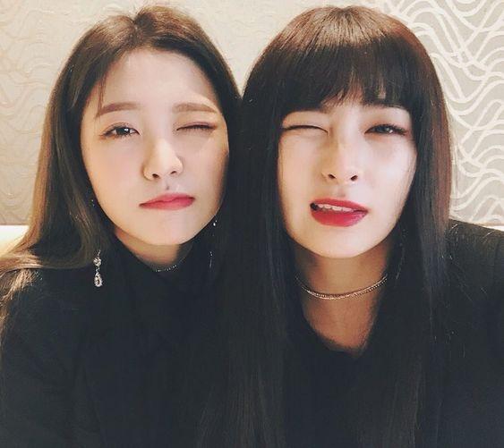 Red Velvet - Yeri & Seulgi #kpop #selca