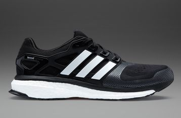 adidas boost running shoes black
