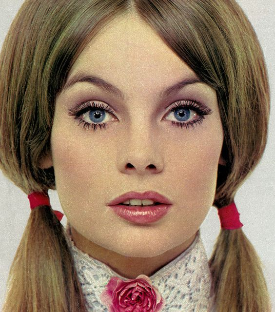 "theswingingsixties: "" Jean Shrimpton for Yardley, 1968. """