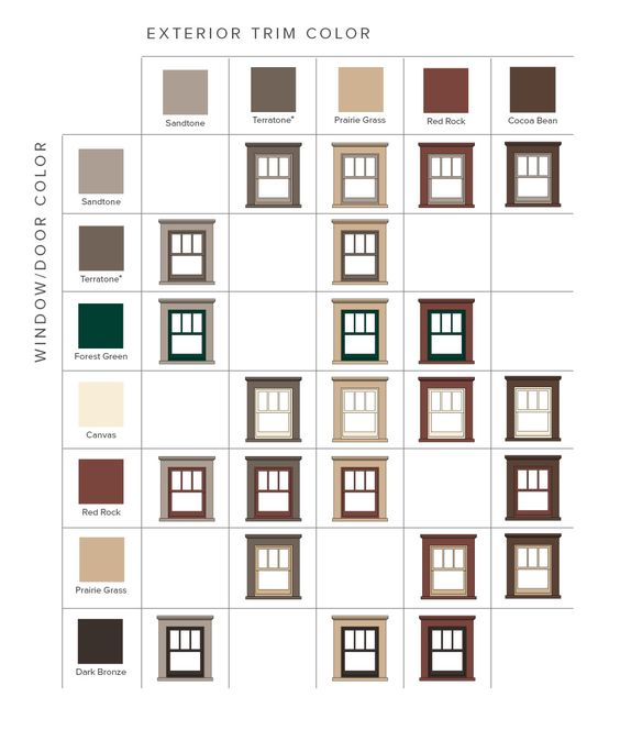 Craftsman Bungalow Home Style Color Combinations
