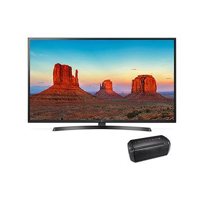 Combo De Pantalla Lcd 60 Pulgadas Uhd Smart Tv 4k Con Bocina