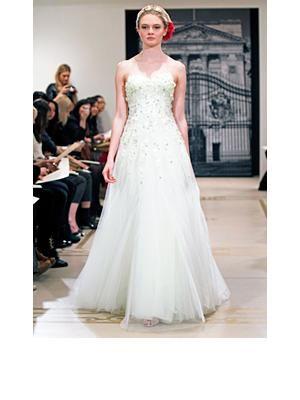 """Reem Acra """"Best Secret"""" Wedding Dress  $6,500, at Reem Acra,"""