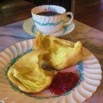 Breakfast Popovers | Flourishing Foodie: Breakfast | Pinterest | Mini ...