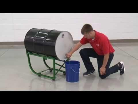 H 4203 Drum Cradle Youtube In 2020 55 Gallon Steel Drum Drums Cradle