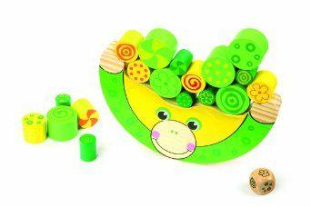 Legler: Traditional Wooden Balancing Frog Preschool Toys: Amazon.co.uk: Toys & Games
