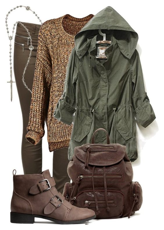 """""""Arya Stark"""" by captaincatwoman ❤ liked on Polyvore featuring ONLY, Pamela Love, Bueno, H&M, GameOfThrones and AryaStark"""