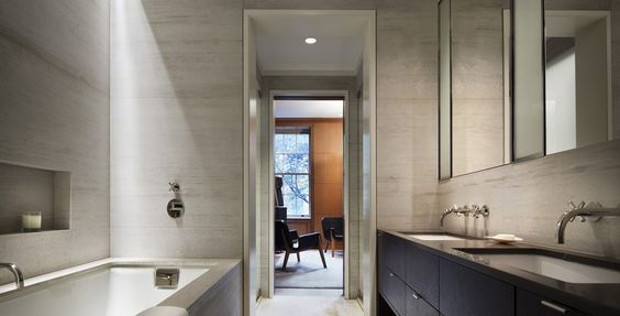 Deliciously modern bathroom - Rees Roberts + Partners: