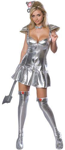 Disfraz Mujer Hojalata. El Mago de Oz