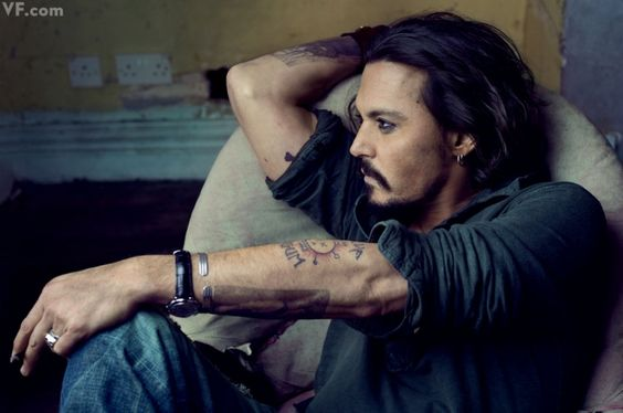 *: Johnny Depp, Tattoo Ideas, Eye Candy, This Man, Tattoo S, Body Art, Annie Leibovitz, Beautiful People, Johnnydepp