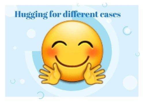 Hugging Face Emoji Emoji Hug Meant To Be
