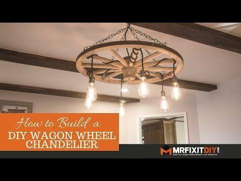Diy Wagon Wheel Chandelier I Ve Had This Old Wagon Wheel Lying In My Backyard For A Couple Of Wagon Wheel Chandelier Diy Wagon Wheel Chandelier Diy Chandelier