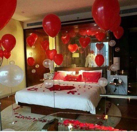 24 New Ideas Birthday Dinner Surprise Ideas Valentines Day Wedding Night Room Decorations Romantic Room Decoration Romantic Birthday