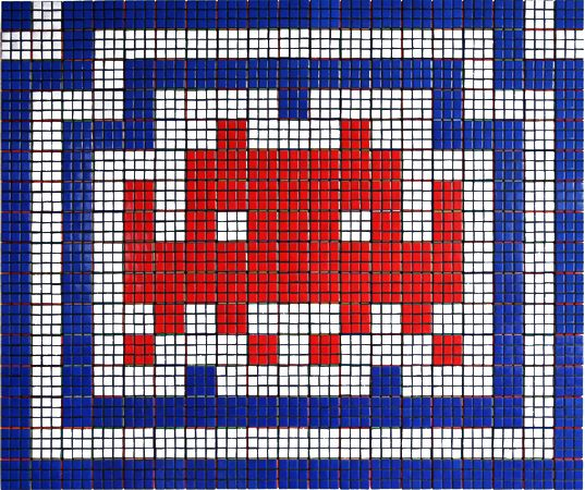 Rubikcubism (http://www.space-invaders.com/rubikcubism_.html) www.revistajadore.com.br