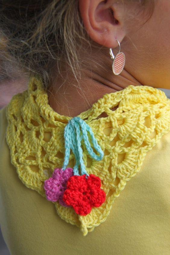 Ak at home    : crochet * zomersjaaltje