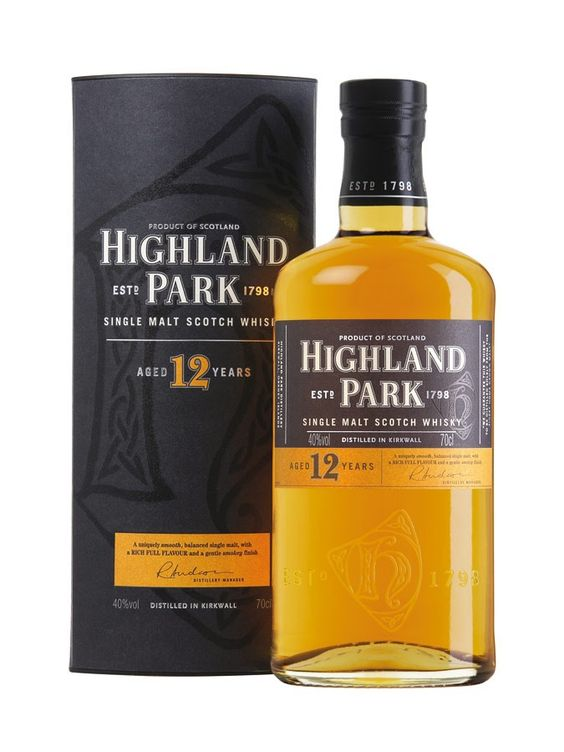 Whisky HIGHLAND PARK 12 ans 40% - Maison du Whisky 41€ - 96/100 Extraordinary, Ultimate Recommendation, Ultimate Spirits Challenge 2013