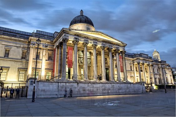 The National Gallery (London). Got very familiar with this place in my early twenties.:
