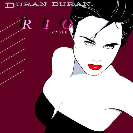 Duran Duran – Rio (single cover art)
